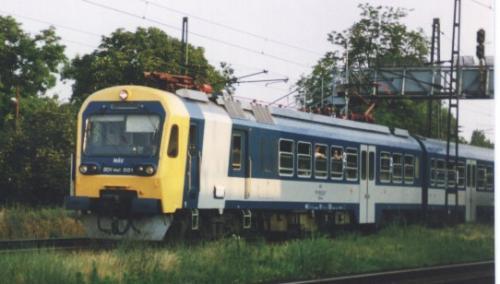Ganz motorvonat BDVmot 001 Hernyó
